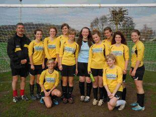 Bridport and Lyme Regis News: BUOYANT BEES: Queen Bees Under-16s