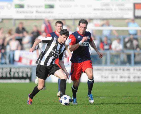 BACK IN THE HIVE: Ryan Dovell has rejoined the Bees from Dorchester Town