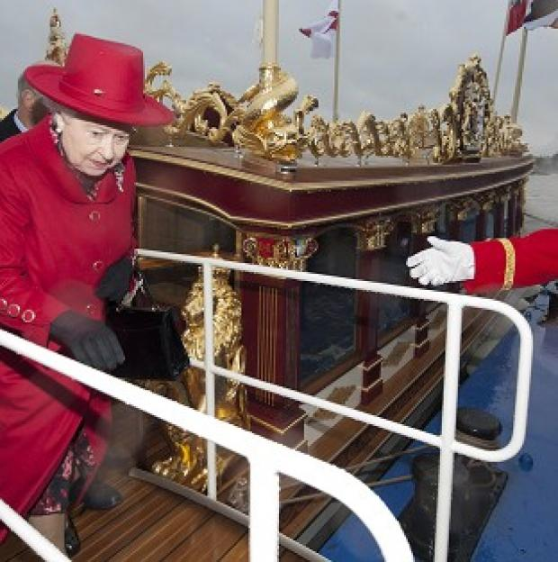 The Cutty Sark in Greenwich has been unveiled by the Queen following 50 million pounds of restoration