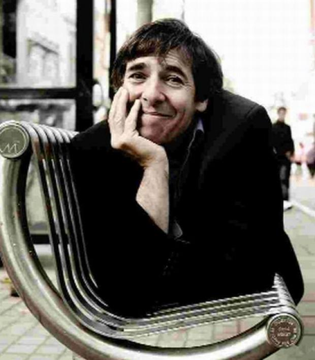WIELDING A COMEDY MICROSCOPE: Mark Steel