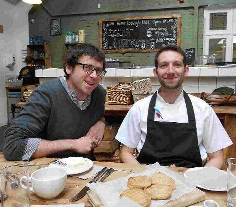 River Cottage Canteen chef Tim Maddams, 33, left, is replaced as head chef by Sam Rom, 28