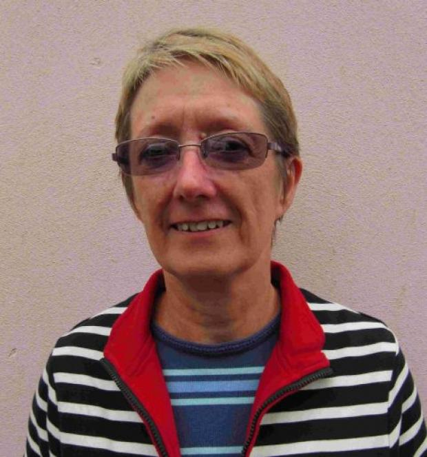 Wendy Davies, chairman of Lyme Regis Development Trust
