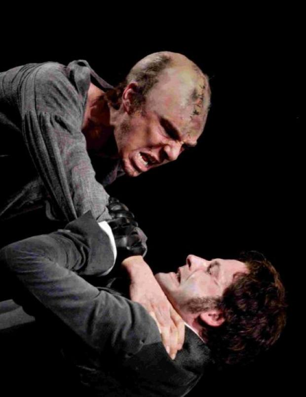 LIVE ON SCREEN: Johnny Lee Miller and Benedict Cumberbatch in Frankenstein