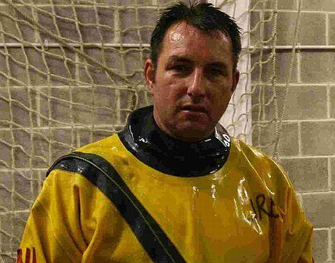 SEA DRAMA: Jon Broome helped to rescue the kayaker  with three other crew members of the Spirit of Loch Fyne
