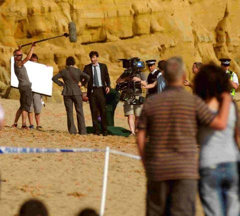 David Tennant at work