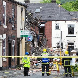 Jamie Heaton died in a suspected gas explosion at his home in Shaw, Oldham, on June 26
