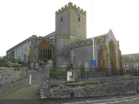 NO CHANGE: St Michael's Church in Lyme Regis