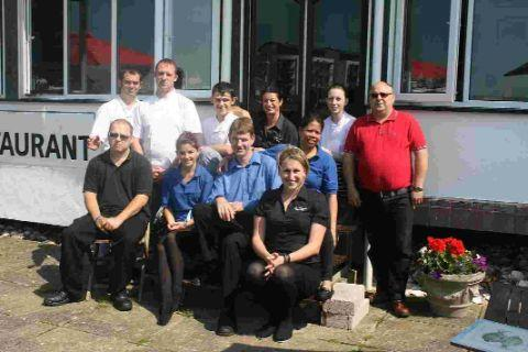 RECOGNITION: The Riverside Restaurant in West Bay is one of only eight in Dorset in the Good Food Guide 2013