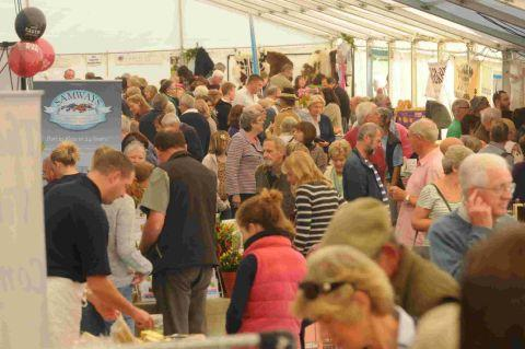 FOOD, GLORIOUS FOOD: Last year's Eat Dorset Food festival at Parnham