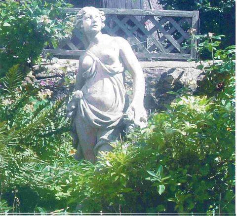 MADE OF STONE: statue has been stolen