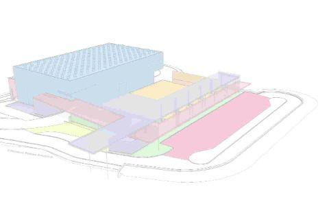 FIRST IMPRESSION: A proposed design for consultation from Dorset Waste Partnership for the new waste transfer station  and recycling centre at Broomhills