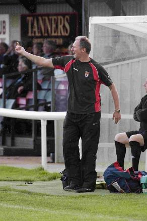 POSITIVE NEWS: Bees' manager Trevor Senior
