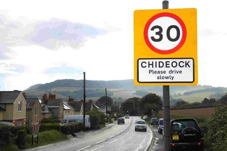 MAIN JOB: expect delays in Chideock