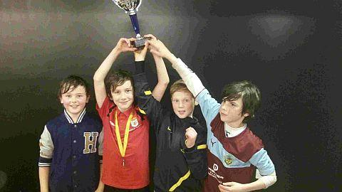 BOYS' TITLE: Bridport Primary