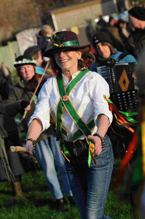 GOING WYLD: Morris dancing at the Wassailing Day
