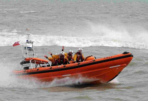 RISE IN CALL-OUTS: Lyme Regis lifeboat Spirit of Loch Fyne