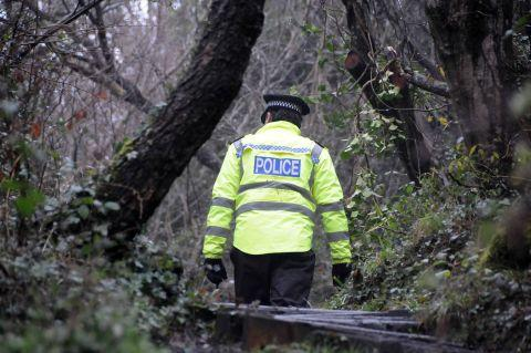 Police search dense woodland in Lyme Regis for missing 41-year-old Simon Douthwaite