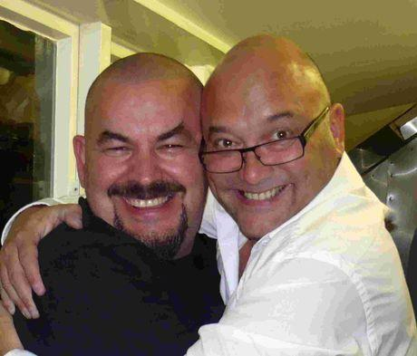 TASTY: Mat Follas and Greg Wallace will be at festival
