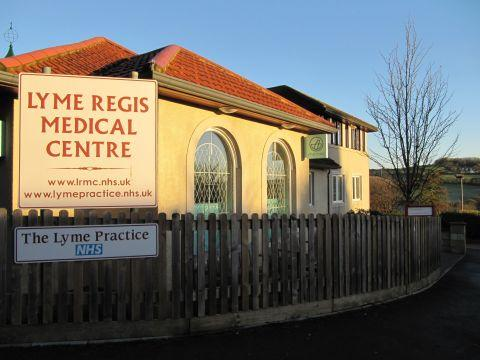 Lyme Regis Medical Centre in Uplyme Road