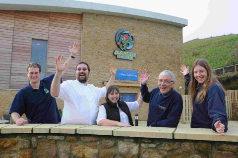 SIMPLY THE BEST: Freshwater staff celebrate being the best holiday park