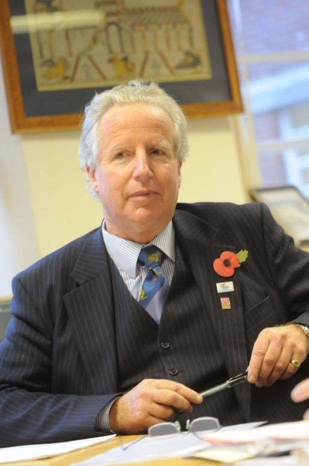 Dorset County Council leader Angus Campbell