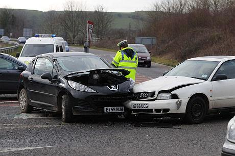 Three-car crash renews calls for safety improvements at Miles Cross