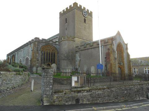 St Michael's Parish Church in Lyme Regis
