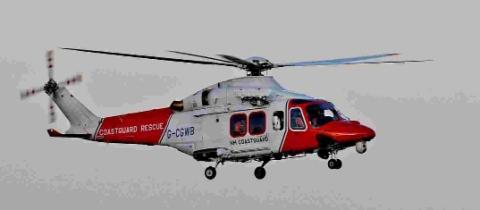 Coastguards assist yacht in difficulty and injured runner