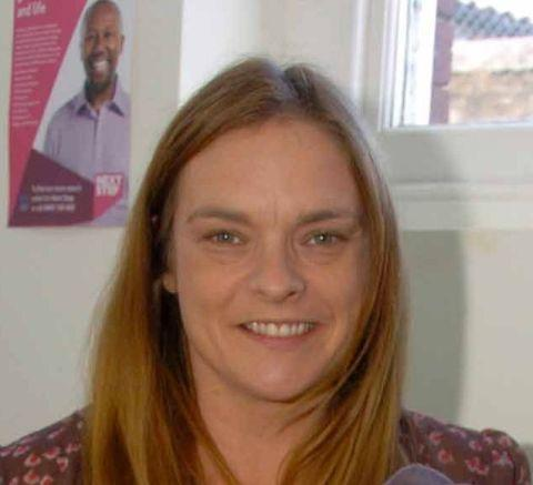 Ellen Austin is co-ordinator of the local area partnership LymeForward