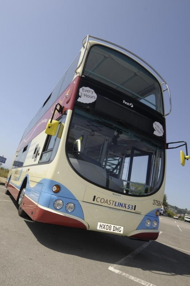 The X53 Jurassic Coast bus is becoming a commercial service