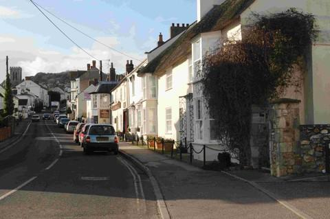 The village of Charmouth is in 'uproar'