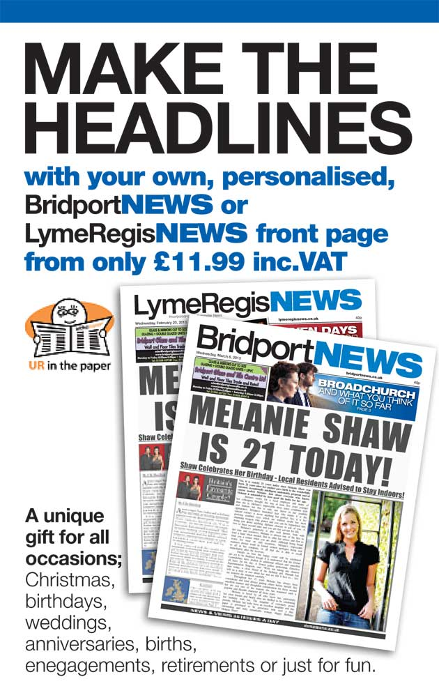 Bridport and Lyme Regis News: Bridport News In The Paper