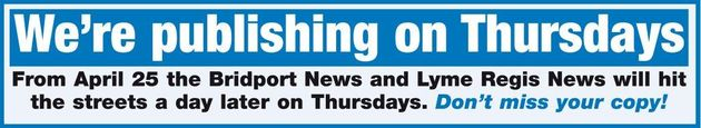 Don't forget - the News is out on Thursdays this week onwards