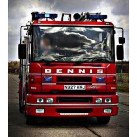 Firefighters tackle heath fire in Marshwood