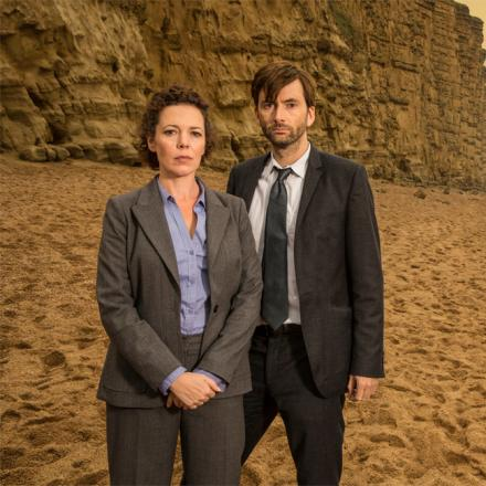 WITH VIDEO: Tennant and Colman interview as Broadchurch is to be shown again