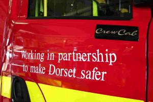 Fire crews tackle West Dorset chimney blaze