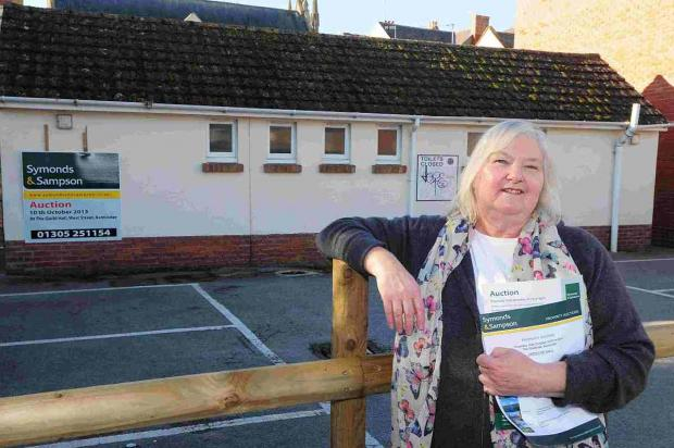 PRESSING NEED: Caroline Parkin is the new owner of the East Street toilets