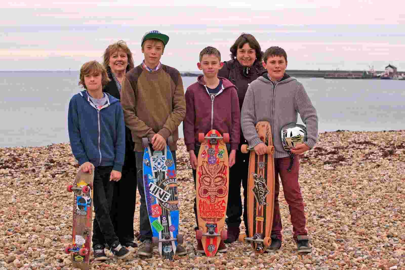 Skatepark countdown as Lyme Regis facility takes a leap forward