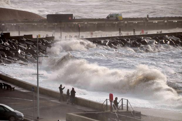 New flooding fears after storm batters Bridport and West Bay