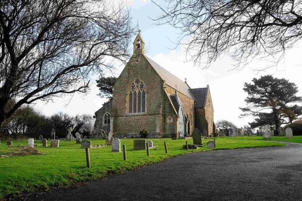 Bridport and Lyme Regis News: UNDER THREAT: St Peter's Church at Eype