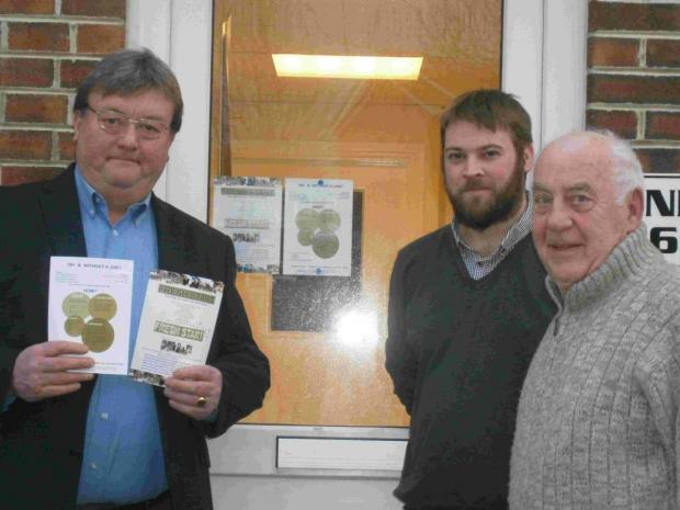 FRESH START: Tutors and mentors Paul Conde, Richard Smith and Alan Leach
