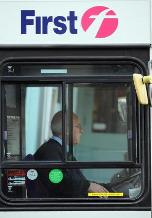 First bus drivers plan 24-hour strike