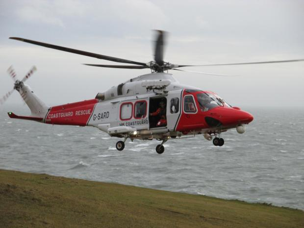 Man airlifted after sailing accident