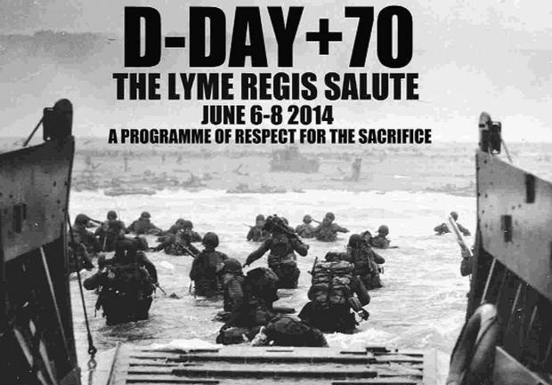 THEIR FINEST HOUR: The images used for the 70th anniversary D-Day commemorations.
