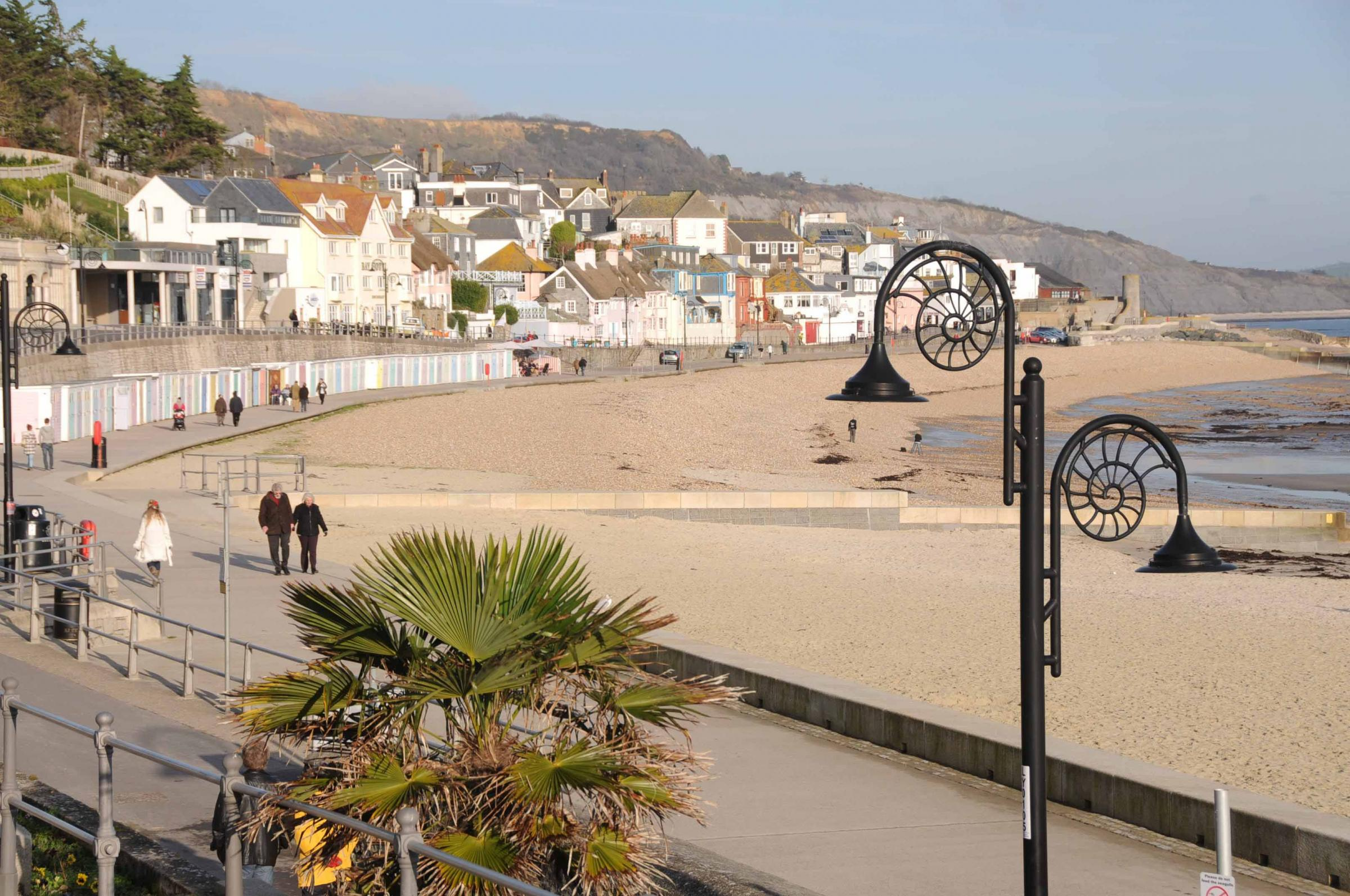 Boy rushed to hospital after stepping on needle on Lyme Regis beach