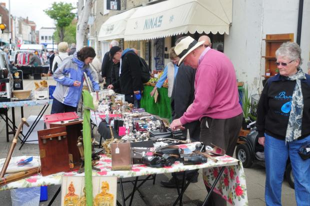 Bridport's thriving market still one of the best in the country