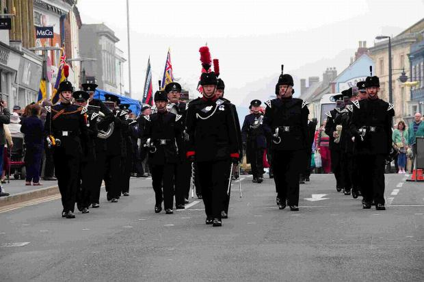 Bridport and Lyme Regis News: PRESTIGE: Around 180 troops and the Salamanca and Waterloo bands of the Rifles Regiment are coming to parade on June 22