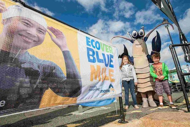 LET'S DO IT: Children across Dorset are being encourged to 'go blue' for a day to support marine conservation