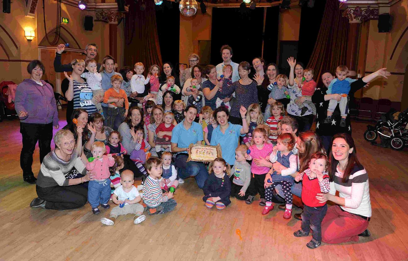 Fizzy Boppers dance group for toddlers celebrates