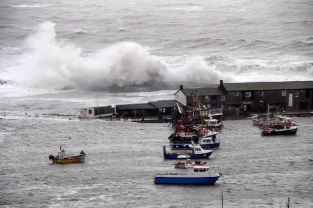 Lyme Regis fishermen count cost of severe storms